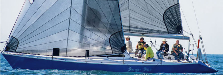 Carbon GPL Tri-Radial Race Sails